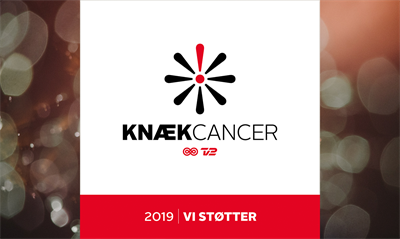 AAG supports Knæk Cancer 2019