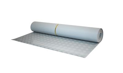 Insulating rubber mat grey