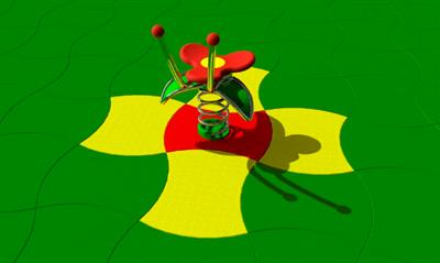 Safety tiles play