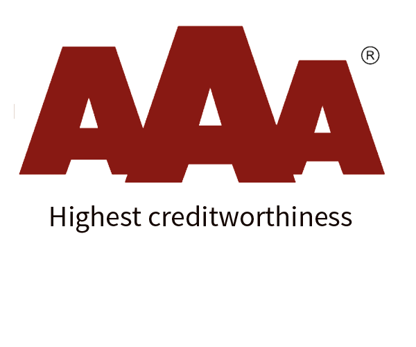 AAG has the highest creditworthiness - Triple A rating