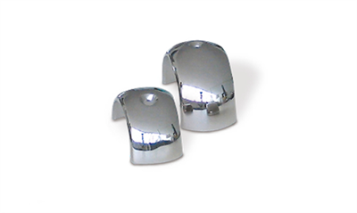 Top-caps for Bino fenders in stainless steel